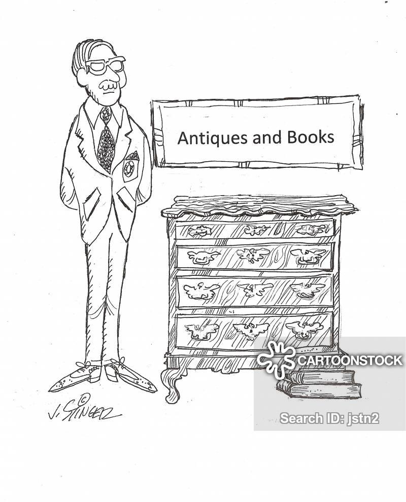 book sellers cartoon