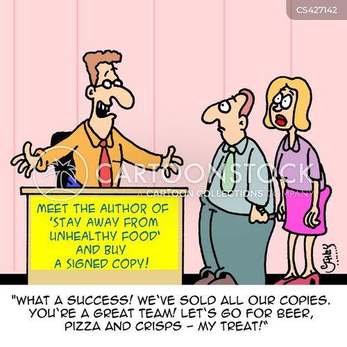 sales teams cartoon