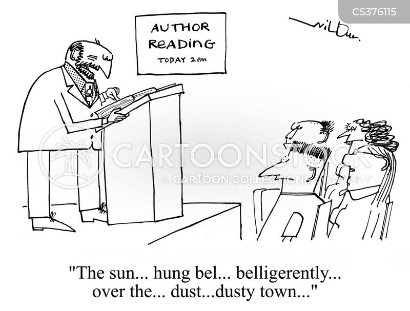 bad reading cartoon