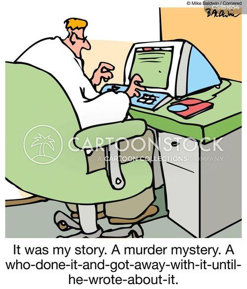 murder mysteries cartoon