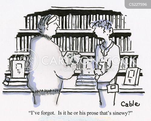 prose cartoon