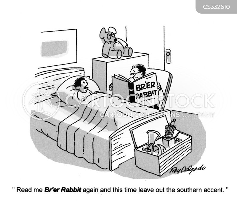 southern accent cartoon