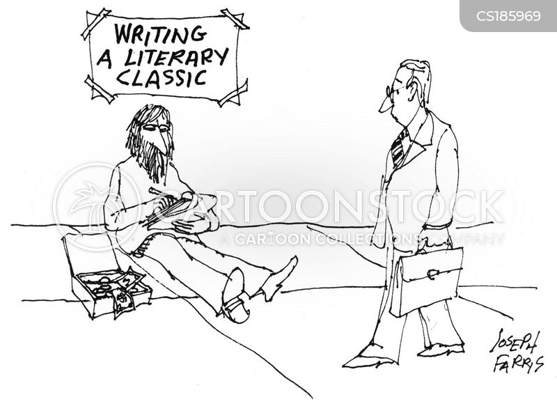 literary classic cartoon