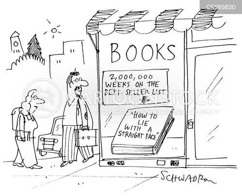 best selling book cartoon