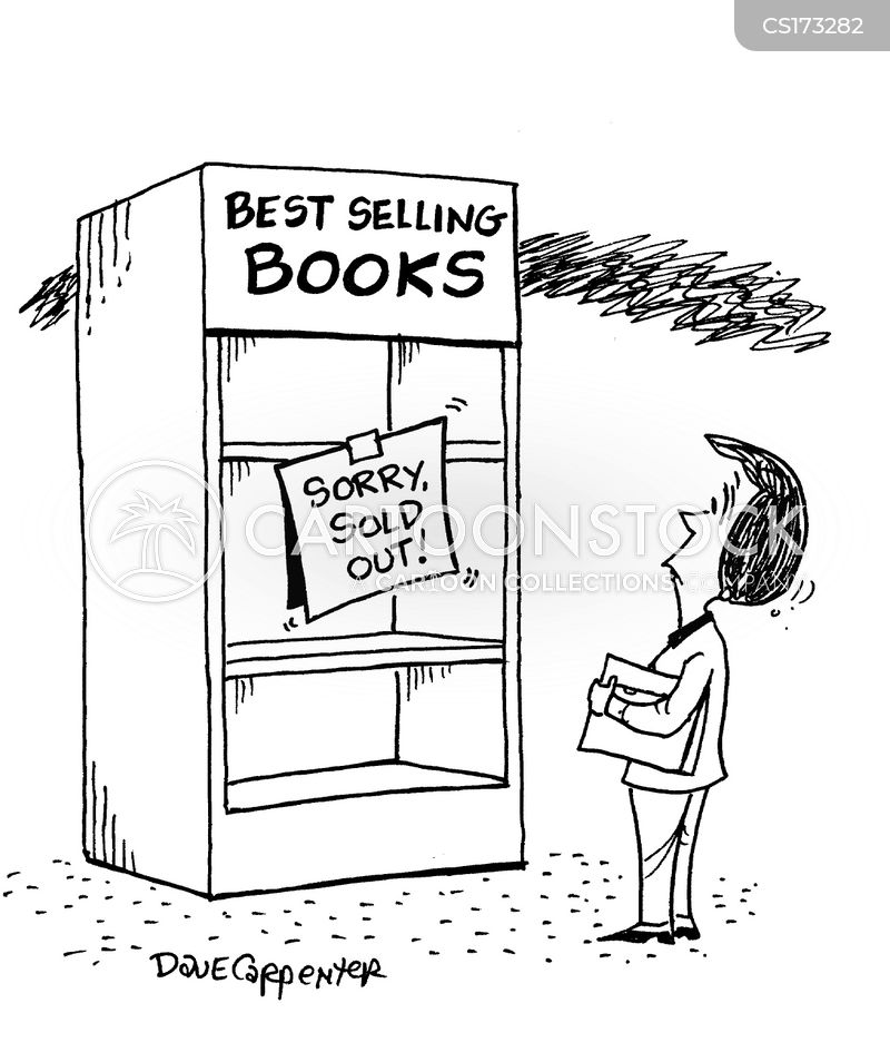 bestsellers cartoon