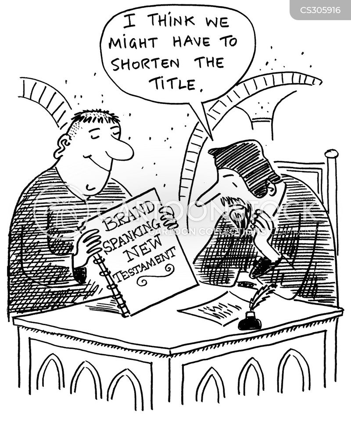 the new testament cartoon