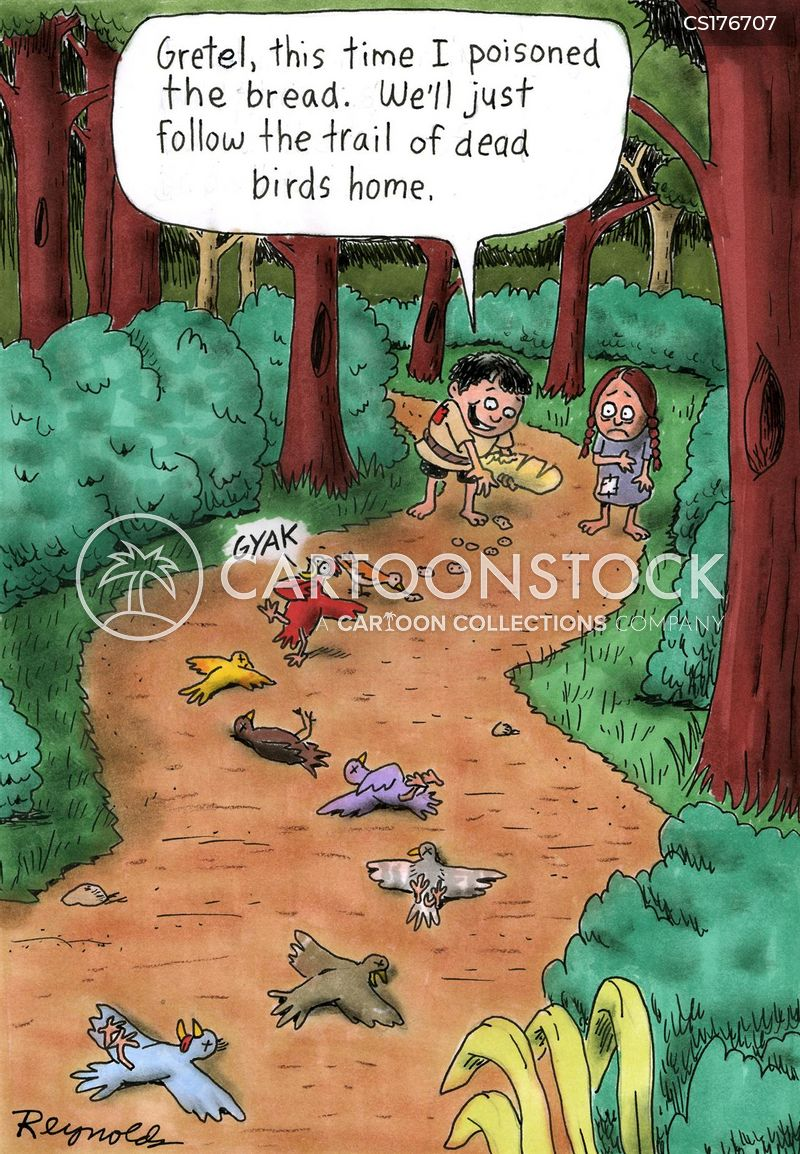 dead birds cartoon