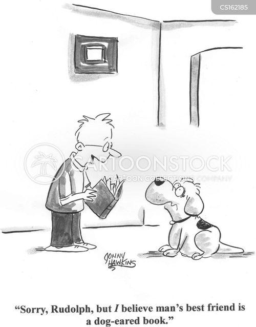 boys and dogs cartoon