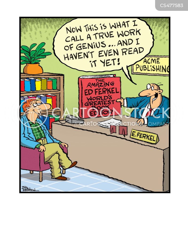 Book Editor Cartoons And Comics Funny Pictures From Cartoonstock