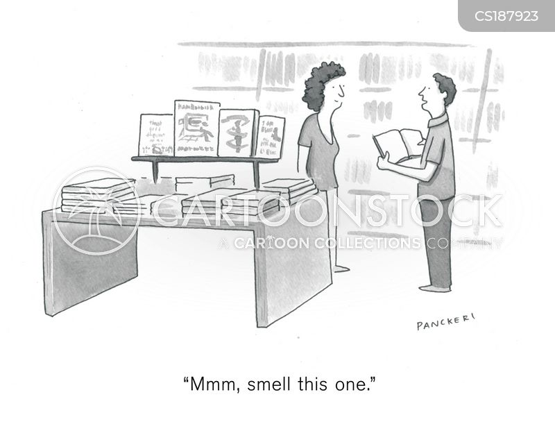 bibliophiles cartoon