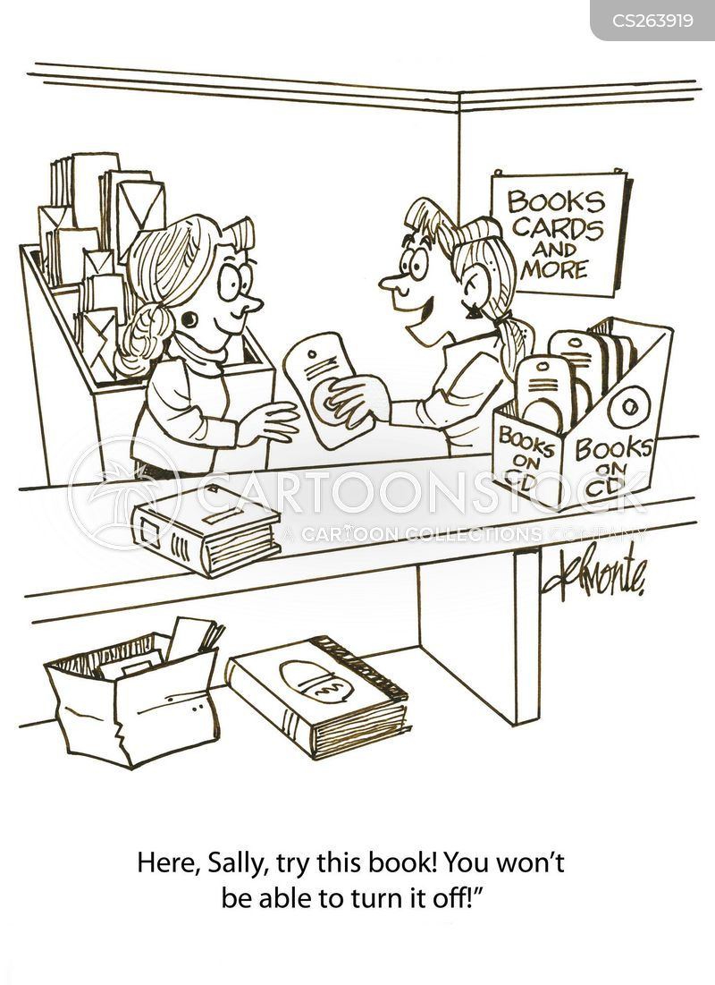 Audio Book Cartoons and Comics - funny pictures from CartoonStock