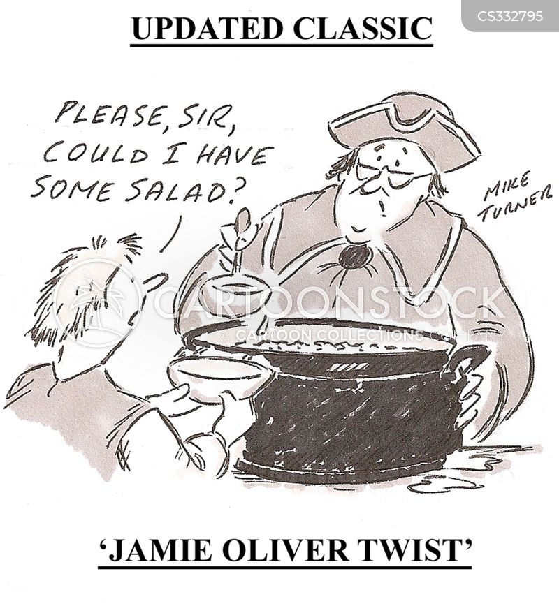 school dinners cartoon