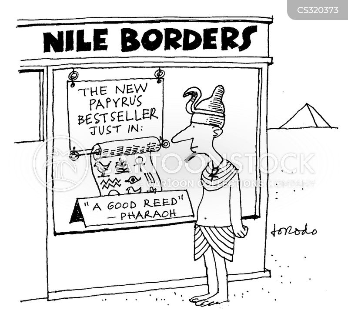 nile borders cartoon