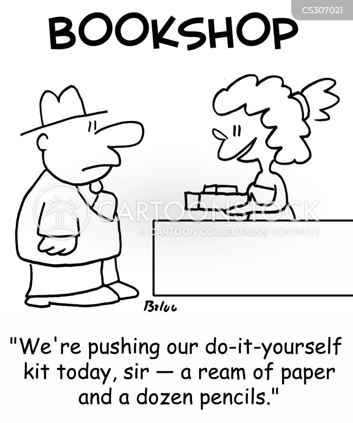 book recommendation cartoon