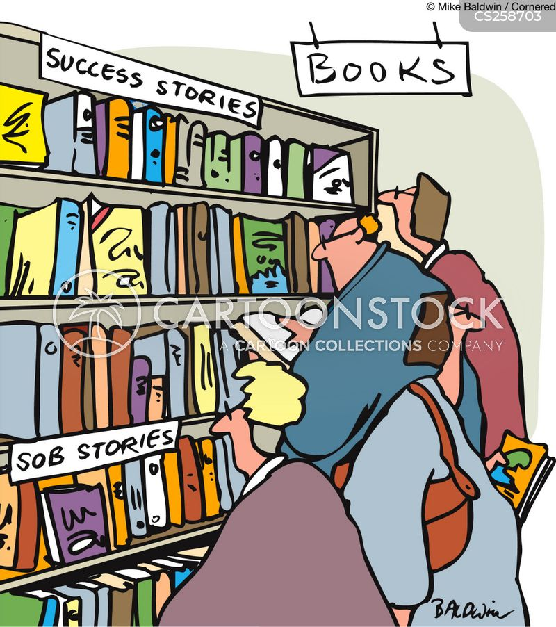success story cartoon