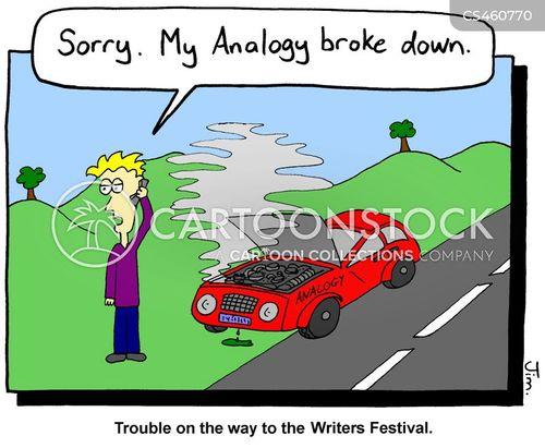 mixed metaphor cartoon