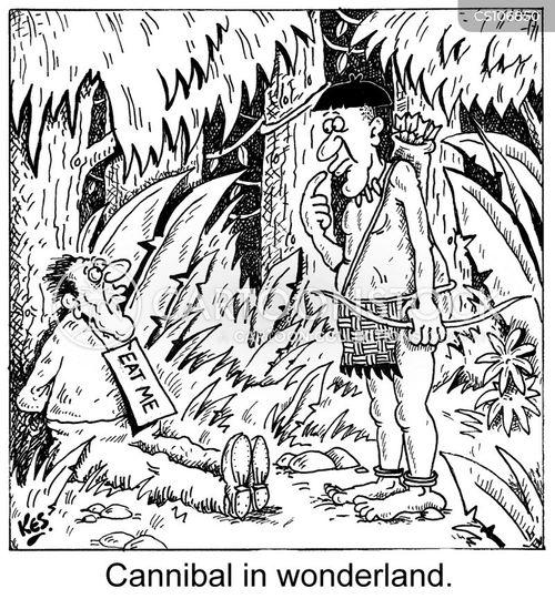 tribesman cartoon