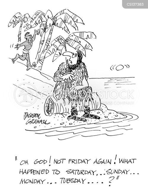 robinson cruiso cartoon