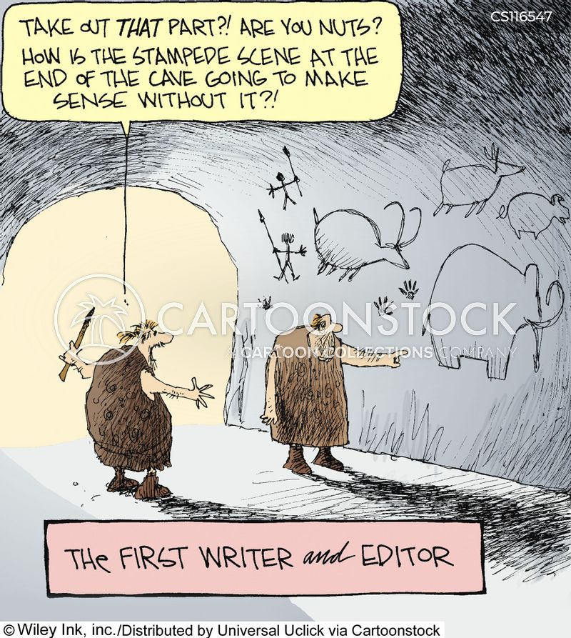 authors cartoon