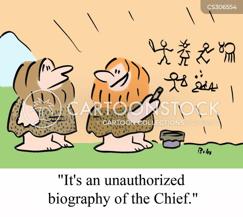 unauthorized cartoon