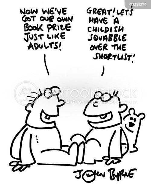 shortlists cartoon