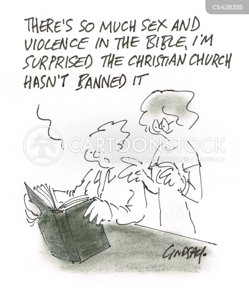 holy book cartoon