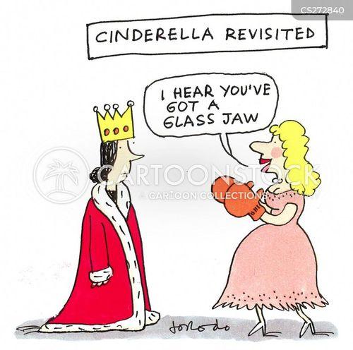 cinders cartoon