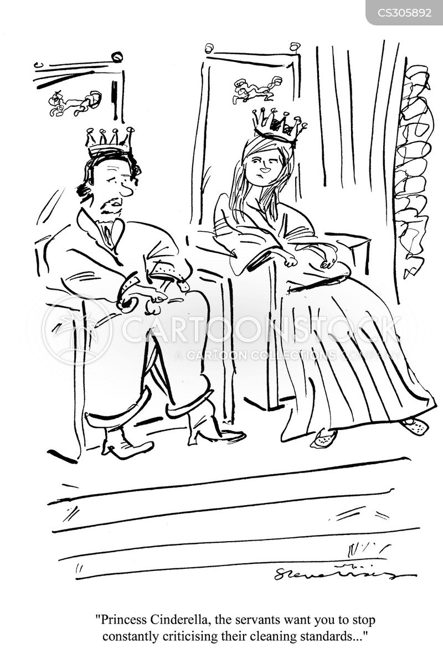 servent cartoon