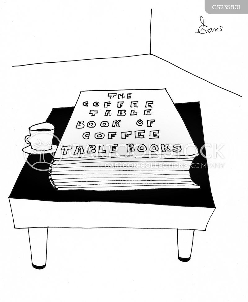 coffee table books cartoons and comics - funny pictures from