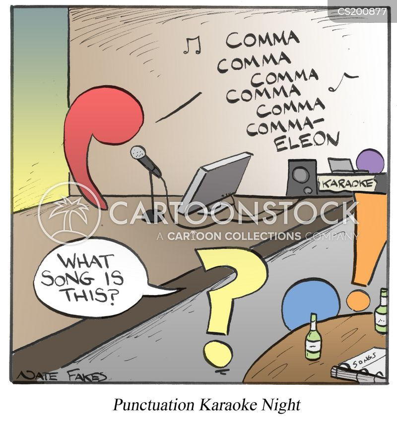 exclamation marks cartoon