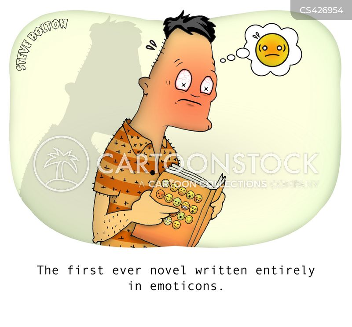 written word cartoon