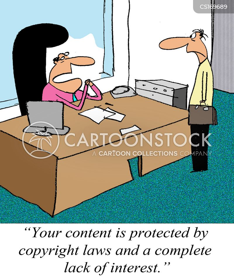 copyright law cartoon
