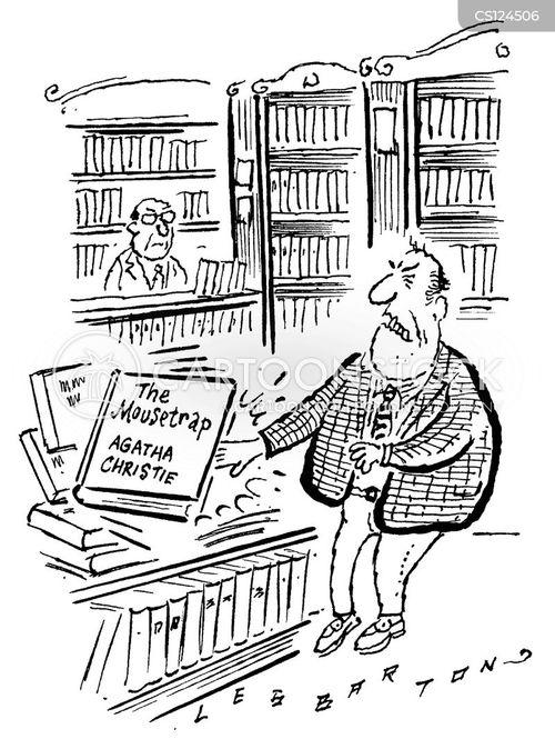 crime fiction cartoon