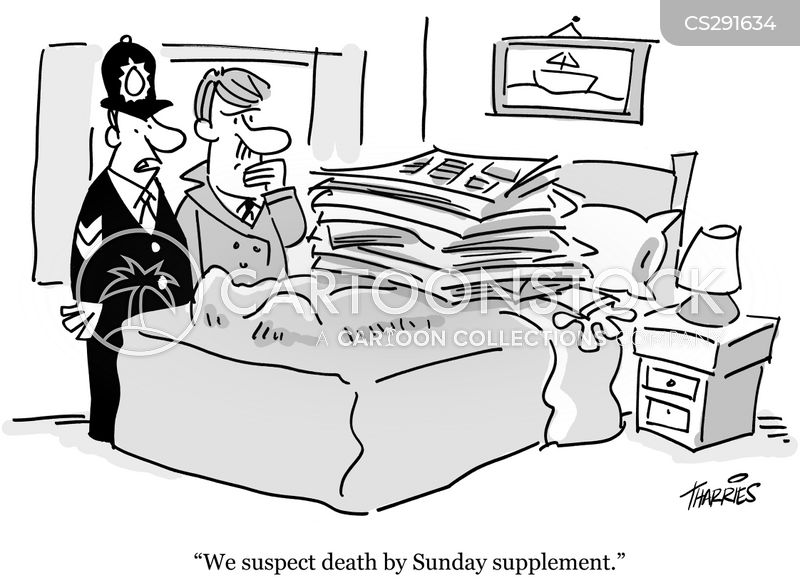 death scene cartoon