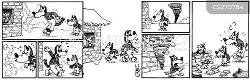 freak weather cartoon