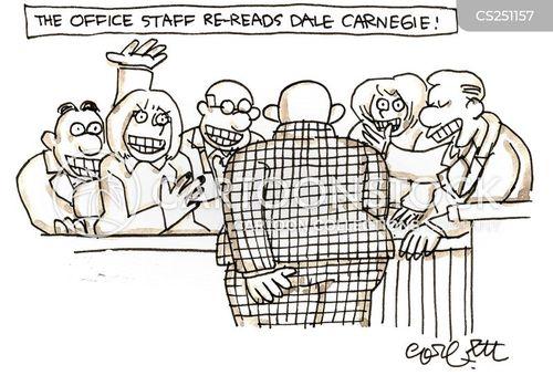 business book cartoon