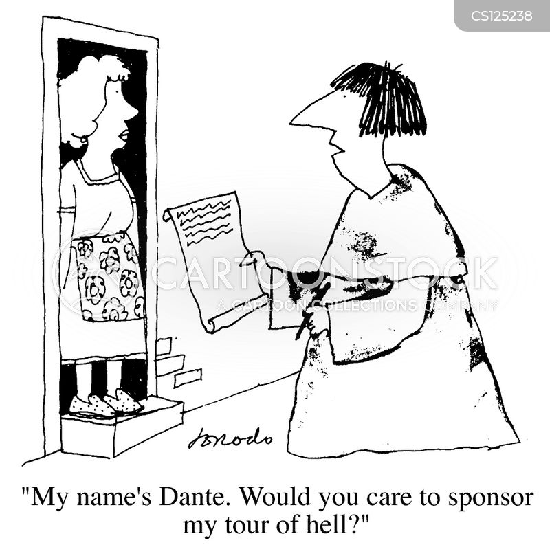 Dante Cartoons and Comics - funny pictures from CartoonStock