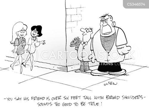 broad shoulders cartoon