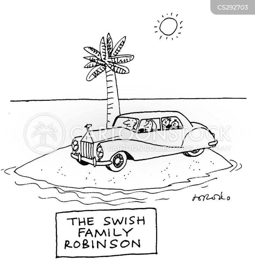 swiss family robinson cartoon