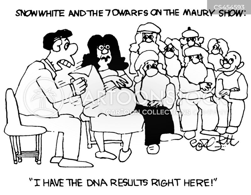 dna tests cartoon