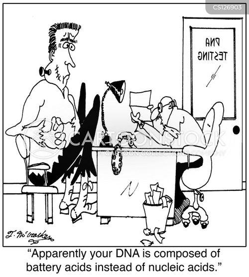 nucleic acids cartoon