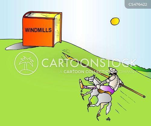 don quichotte cartoon