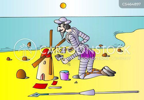 spanish literature cartoon