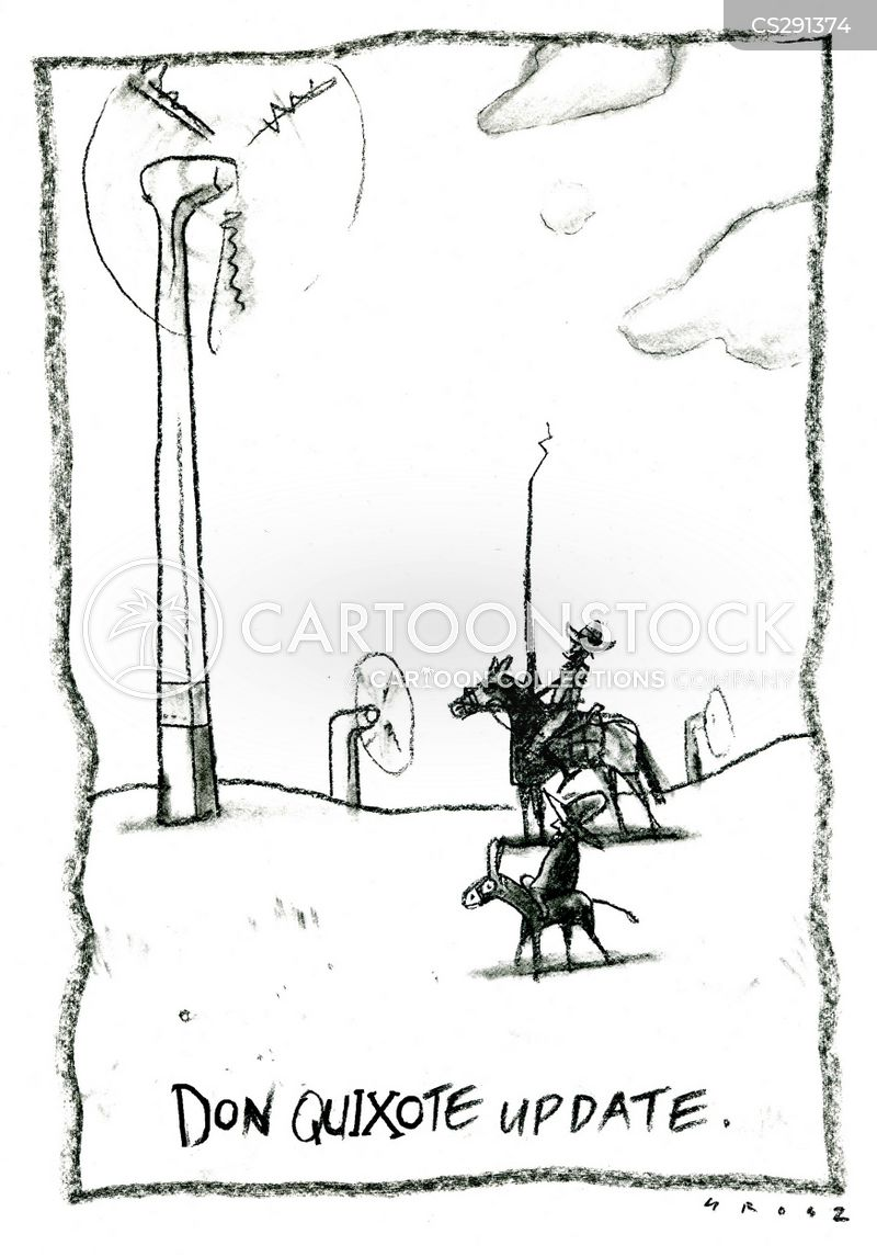 windmills cartoon