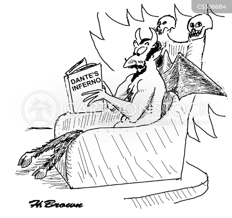 Dante's Inferno Cartoons and Comics - funny pictures from CartoonStock