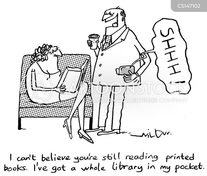 paperback cartoon
