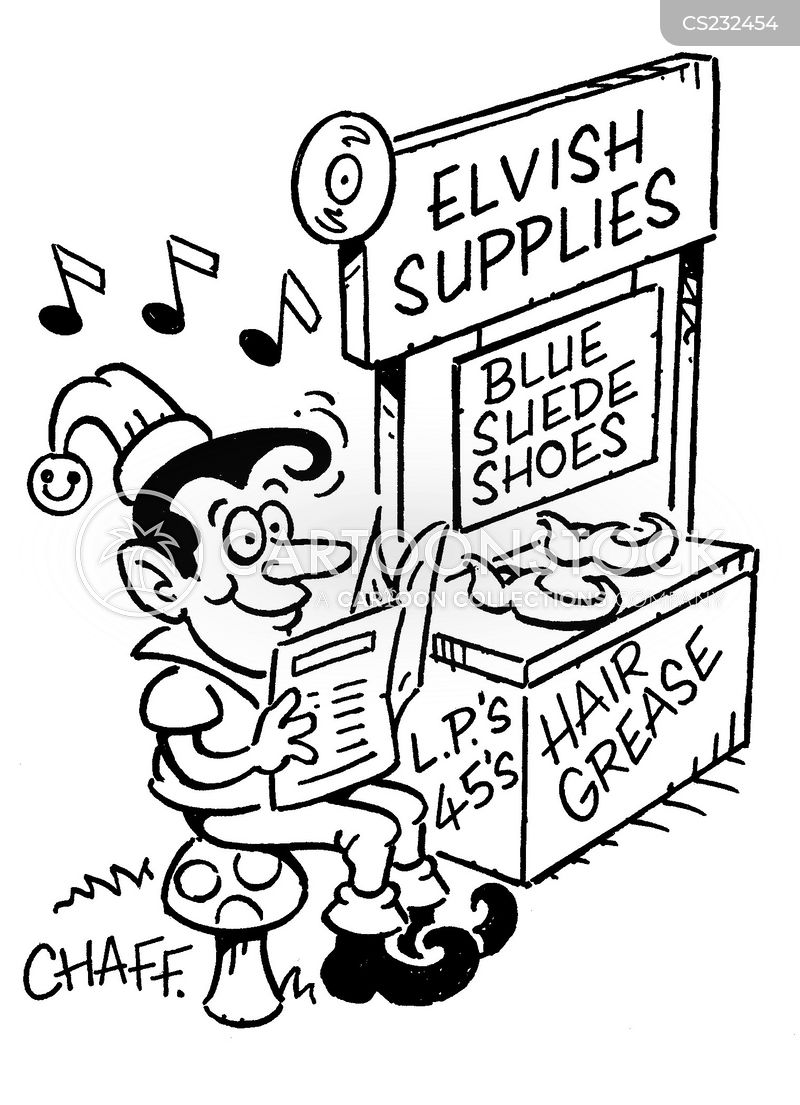 presley cartoon
