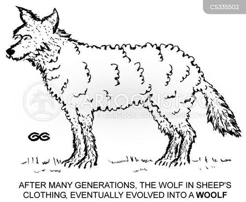 wooliness cartoon