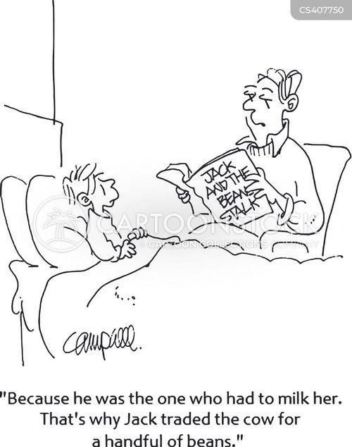 milkers cartoon