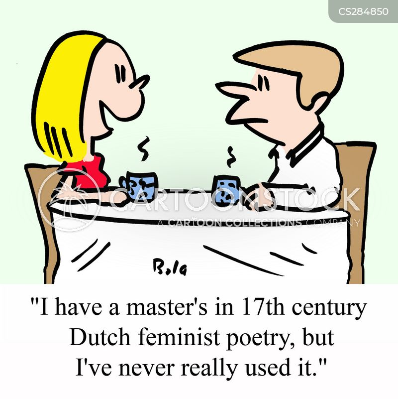 Masters Degrees Cartoons and Comics - funny pictures from CartoonStock